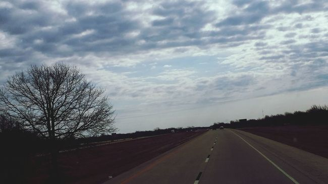 On The Road Truckdriving in Oklahoma . I started near Oklahoma City and drove to Jackson, Tennessee today.