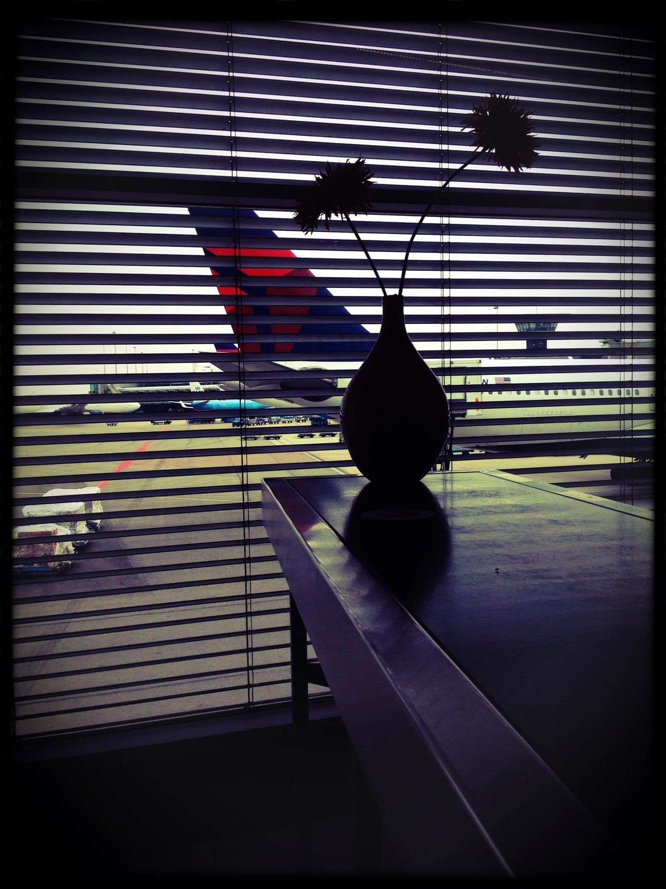 Waiting For Boarding Schiphol Bristol