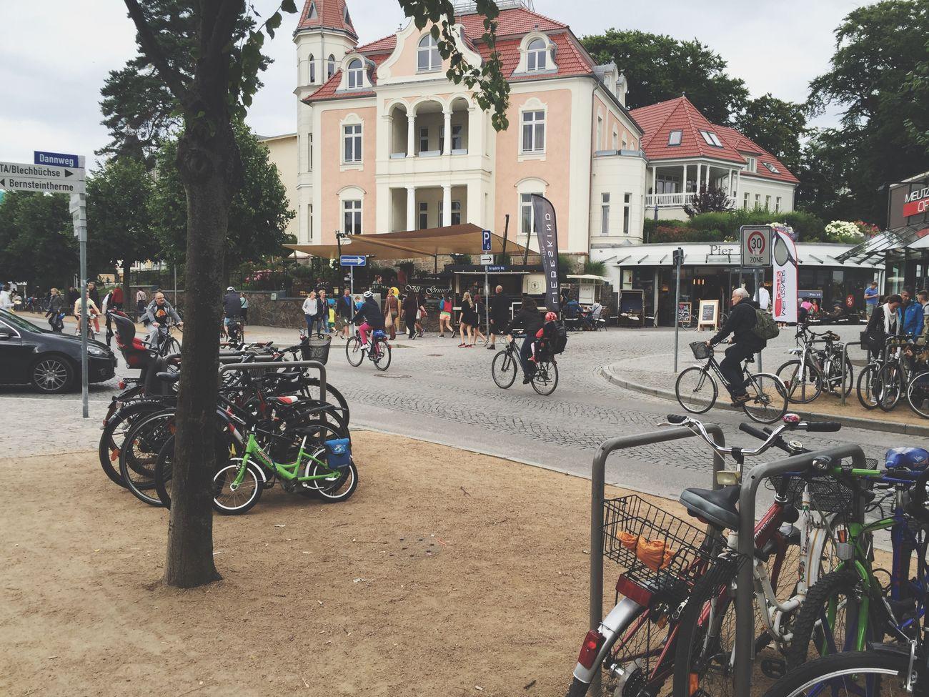 Zinnowitz Ice Cream Summer Ostsee Baltic Sea City
