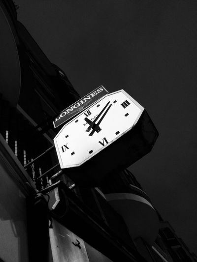 Paris By Night Clock Clock Face Clock Tower Close-up Day Hour Hand Hours Longines Longines Watches Low Angle View Minute Hand No People Outdoors Roman Numeral Time Vintage Watches