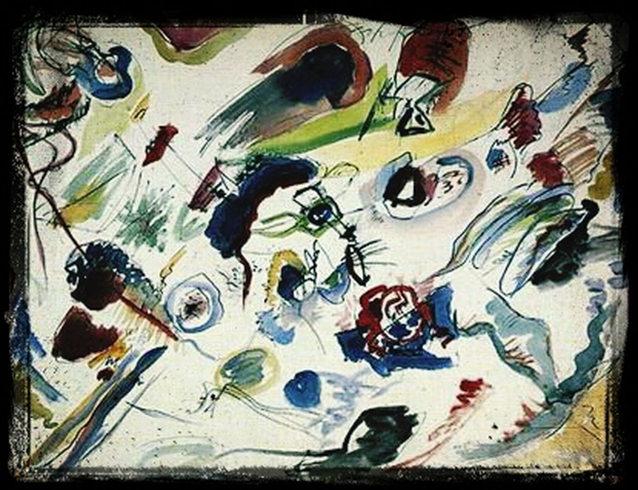Virtual Web Museum Of Contemporary Art Abstract Historical Avantgarde Art Work Avanguardie Storiche Wassily Kandinsky Arte Astratta Astrattismo Abstract Art Abstractart