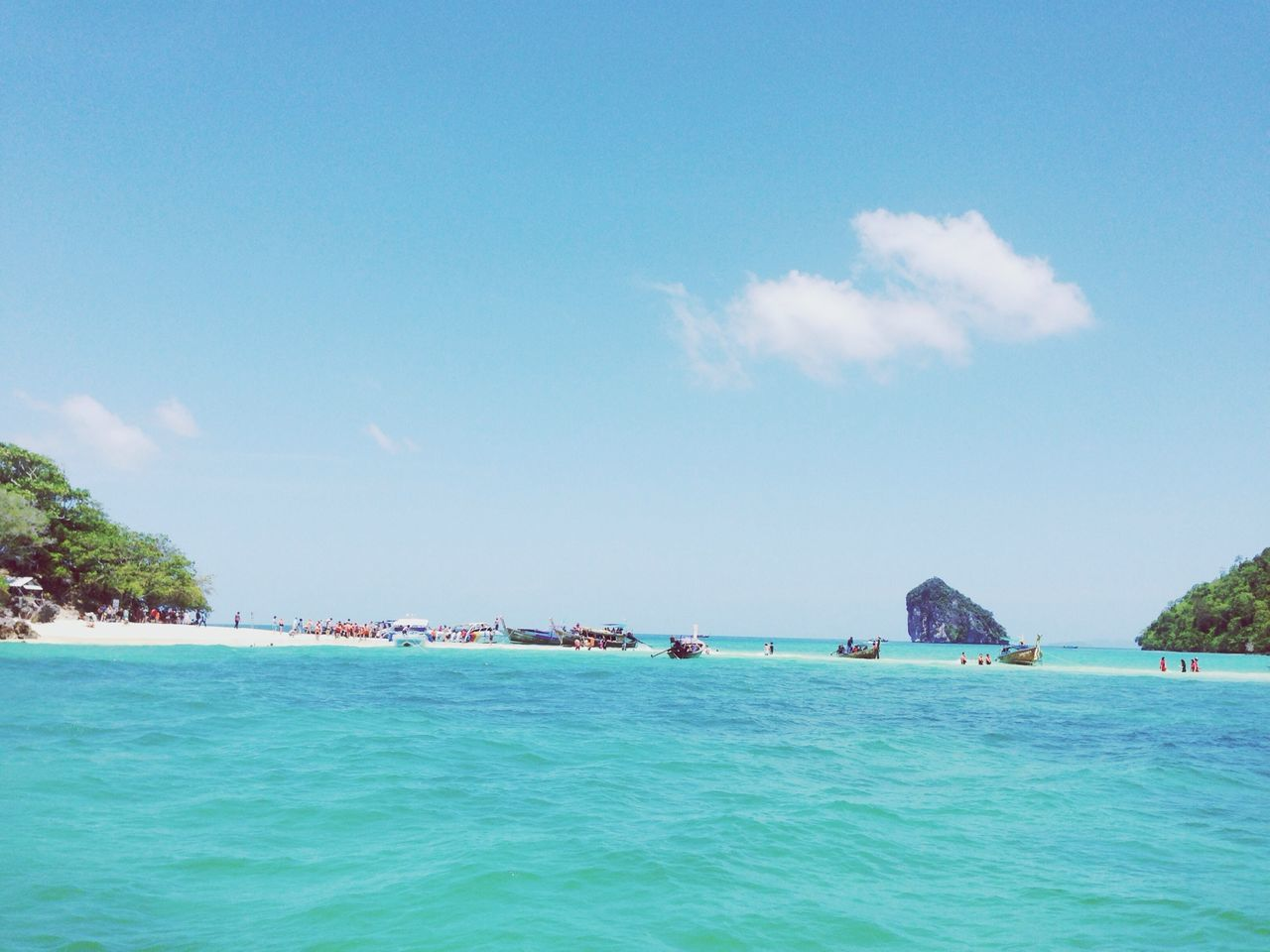 Beautiful stock photos of thai, Beach, Beauty In Nature, Boat, Day