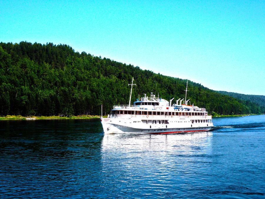 River Ship Alexandr Matrosov Yenisei River