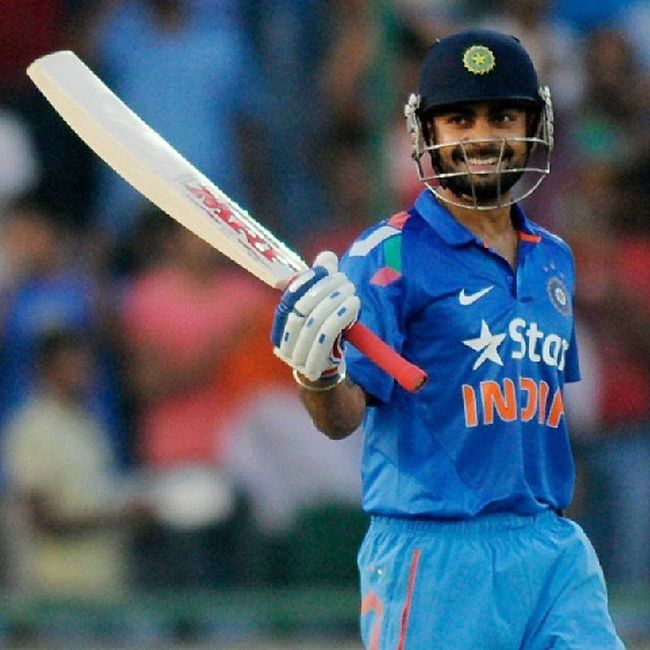 Viratkohli made 20th century in ODI. Outstanding & amazing came back in game. TeamIndia IndvWI Cricket ..!!