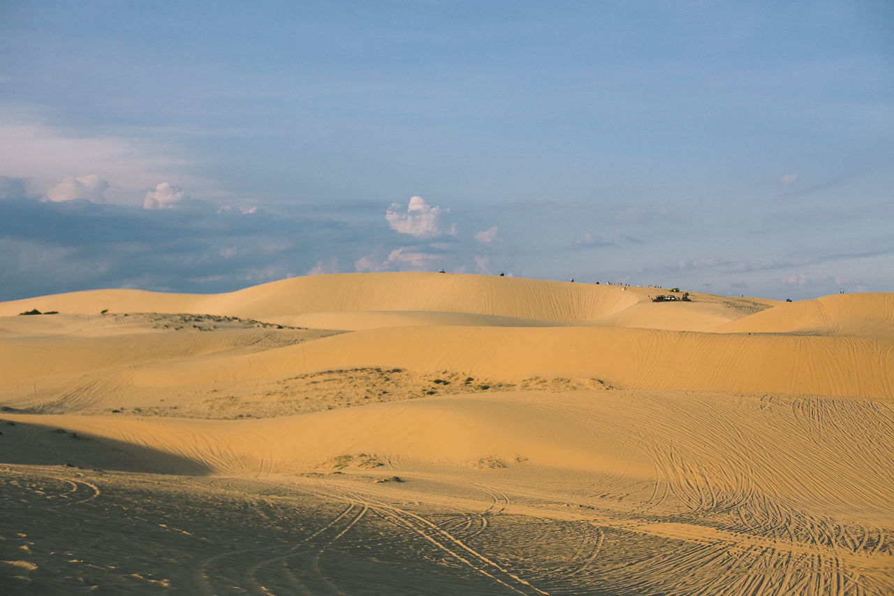 Beauty In Nature Desert Holiday Landscape Live For The Story Muine, Vietnam  Nature Outdoors Sand Sand Dune Scenics Sky Summer Sunny Sunset Tranquil Scene Tranquility Vacation Vietnam
