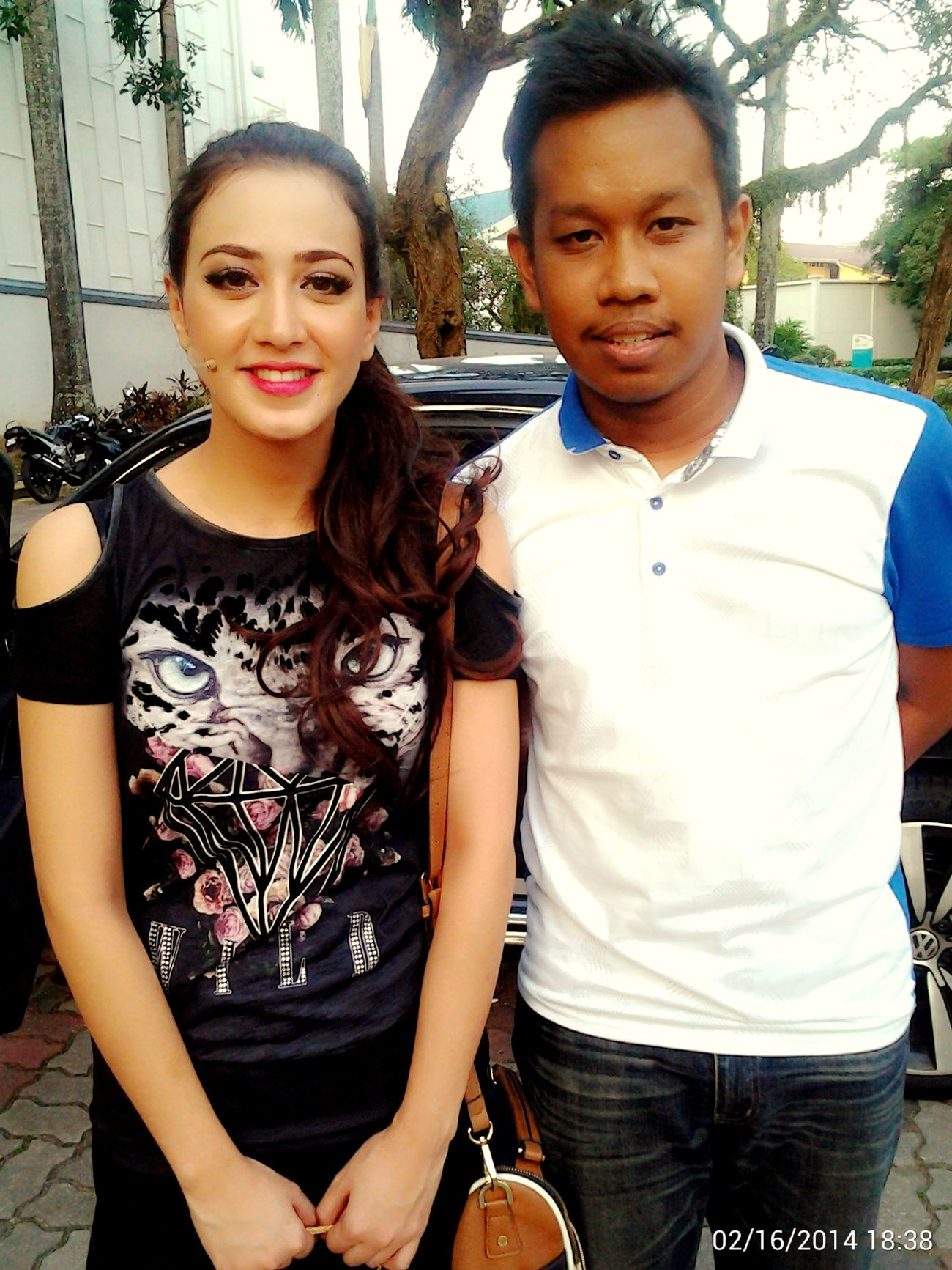 Throwback Actress Taking Photos Nur Fathia