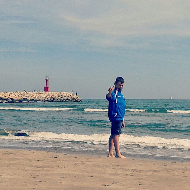 Un dia de playa Sea Enjoying Life Cullera Faro First Eyeem Photo