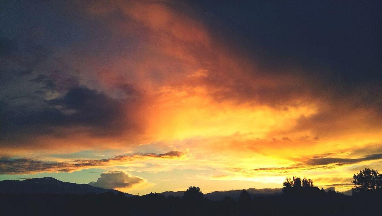 Sunset Clouds And Sky Cloudporn Landscape