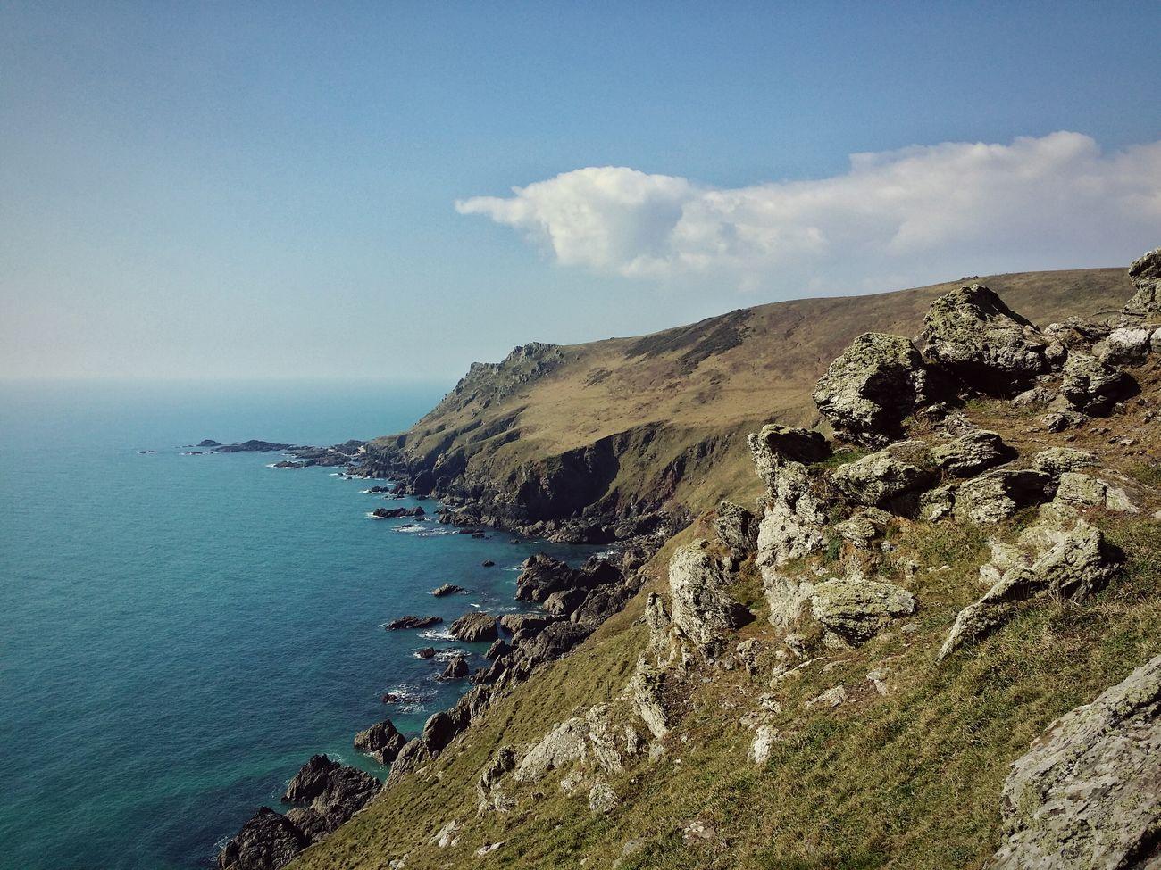 Sea And Sky Traveling Hiking Seaside Seascape