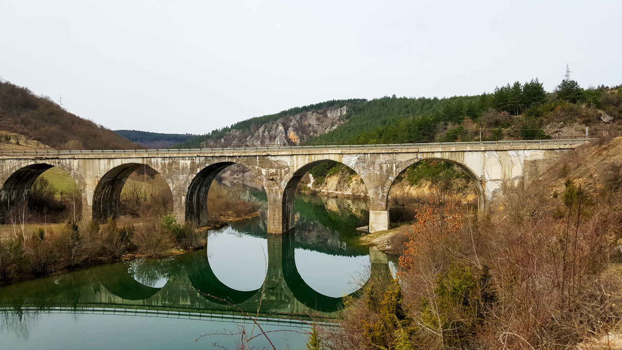Bridge River Uvac Serbia Water Mobile Photography Nato Bombing Repaired