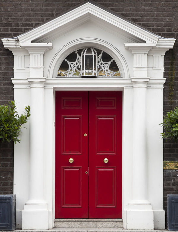 Dublin Individuality Ireland Old Fashioned Resistance  Wood Architecture Building Exterior Civil Day District Door English Entrance Gregorian Historical Law Medieval Neighborhood No People Outdoors Red Series