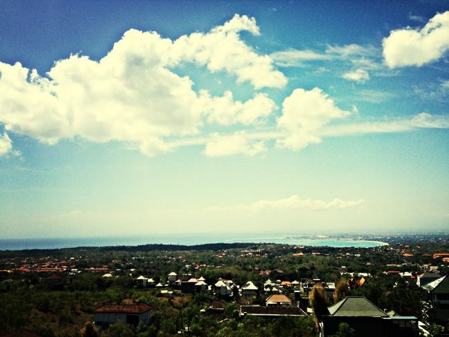 taken from the rooftop of harris hotel jimbaran