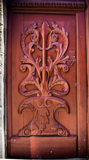 Architecture Building Exterior Decoration Design Door Entrance Old Door Wood Door