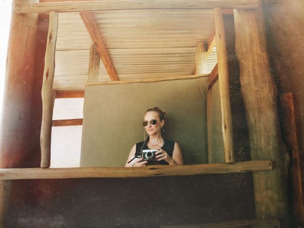 The New Self-Portrait On Safari Glamping On The Road