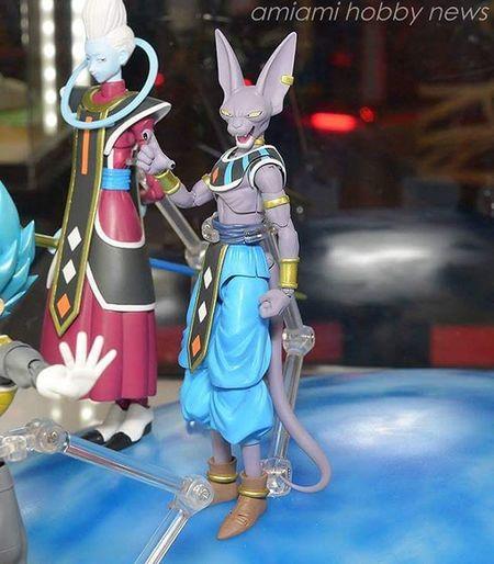 Beerus! SHfiguarts Plasticcrack Toysaermydrugs Tamashiinations Shf Dragonballz Dragonballsuper Goku Vegeta Beerus Dbzsuper DBZ Animexico