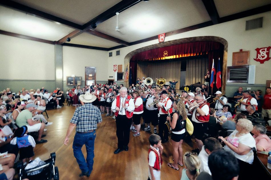 Czech Festival Live Music Polka Cowboy SOKOL Small Town USA Nebraska A Day In The Life Outsiderin