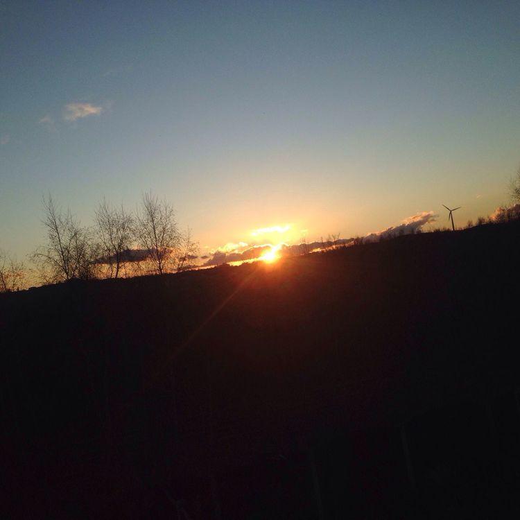 Sunset Sky Good Sky Loving The Sky