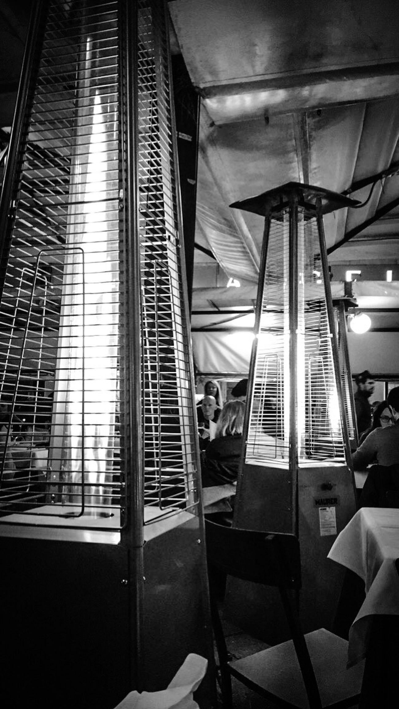 Lifestyles Architecture Flamme Nitgh Decoration Restaurant Rome Italy Luminosity Lumière Indoors
