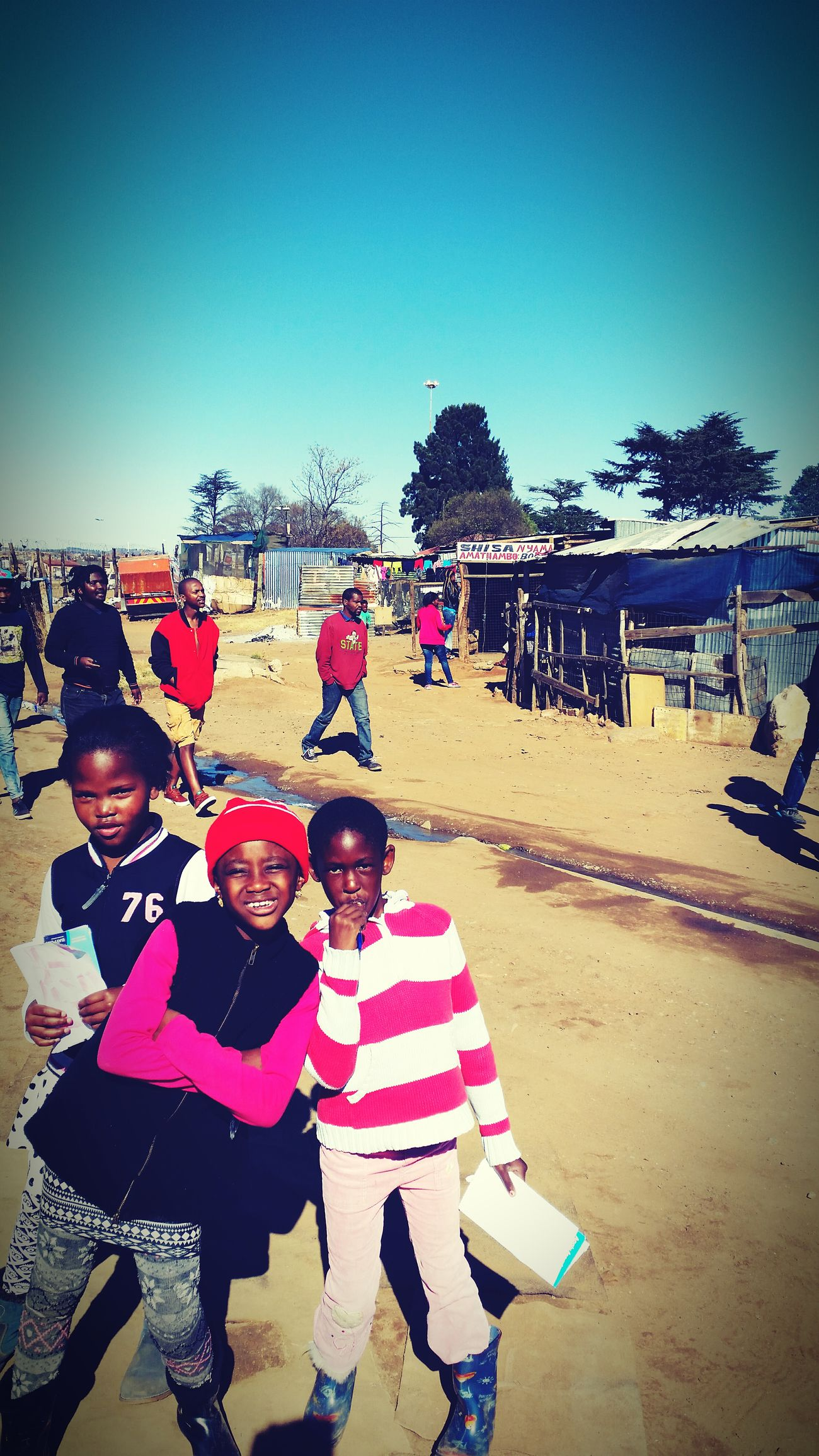 Children's Portraits SomewhereInSoweto South Africa Street Life