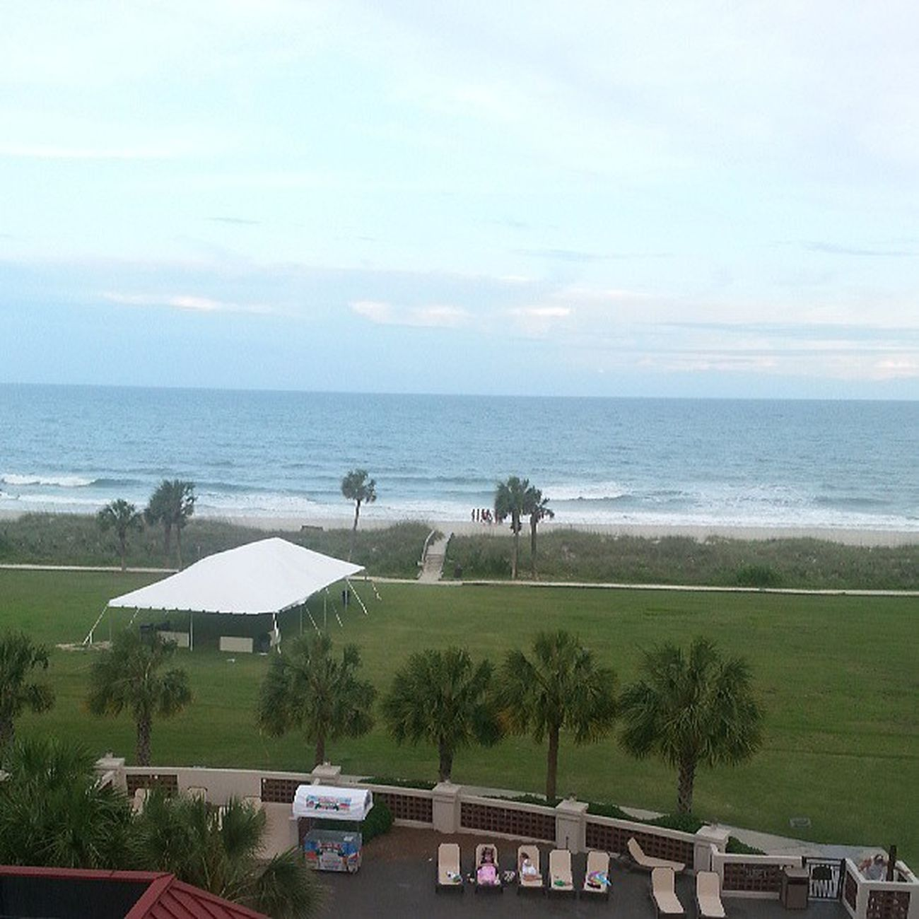 My view from the balcony Balconyview Myrtlebeach Southcarolina SC