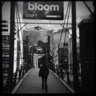 blackandwhite street photography in Birmingham by Claudia Cee