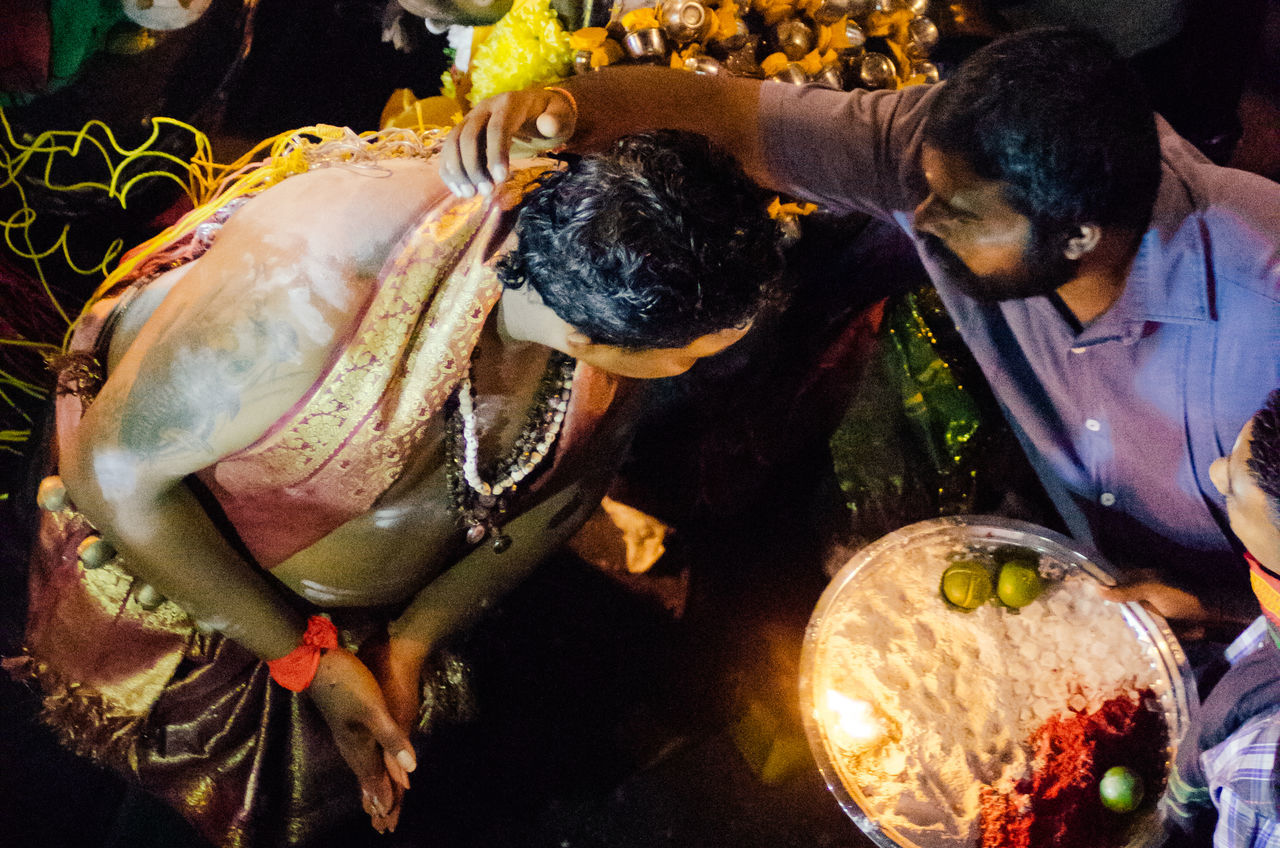 Close-up Devotees Hinduism Indian Night Religious  Ritual Thaipusam2016 The Photojournalist - 2016 EyeEm Awards A Bird's Eye View