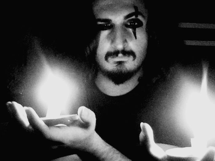 Spritualism Spritual Journey Shamanism Astral Dark Fire Telekinesis Black & White