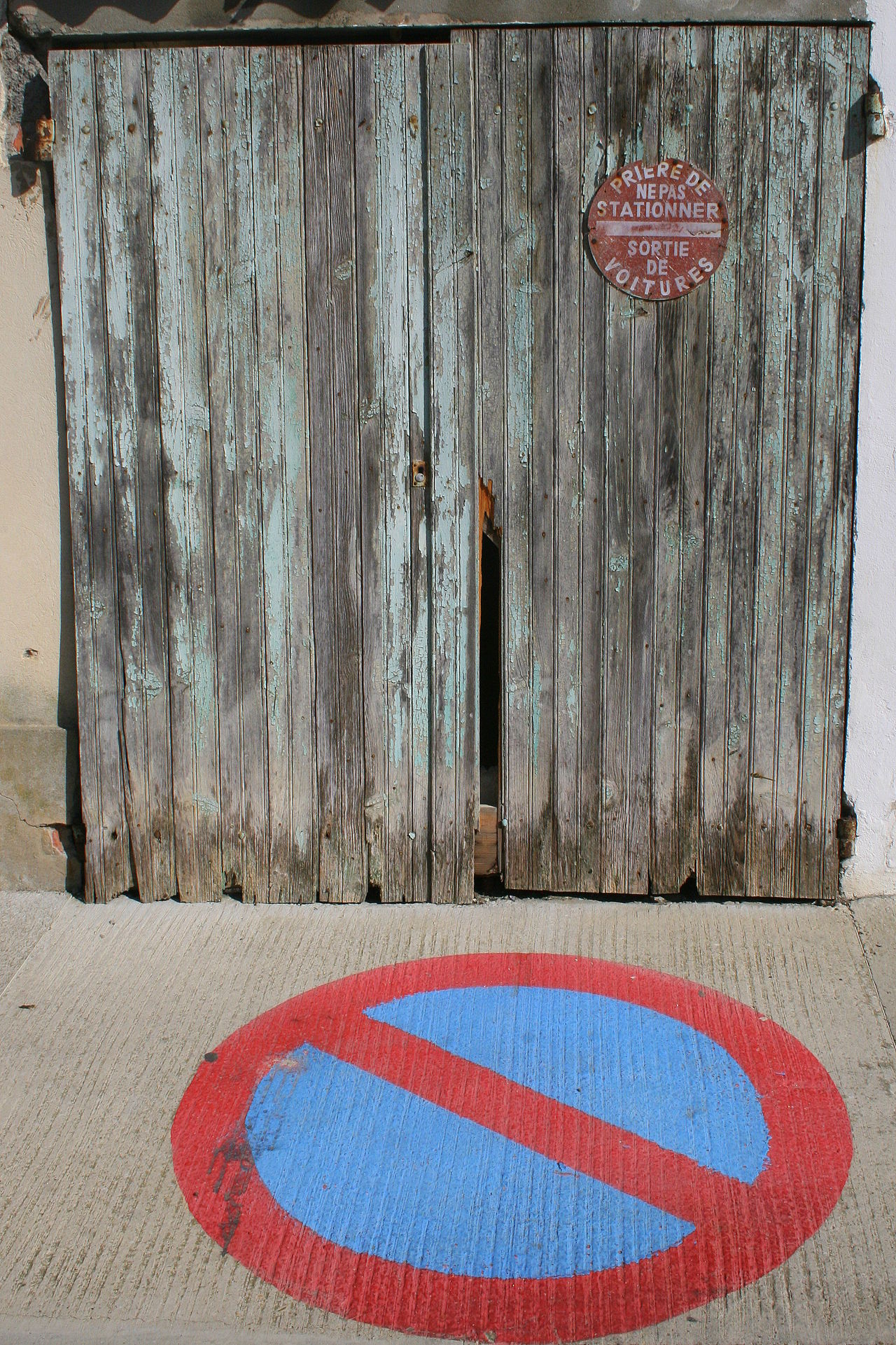 Architecture Ban Sign Built Structure Close-up Day Door Forbidden Multi Colored No No People Outdoors Red Road Sign Text