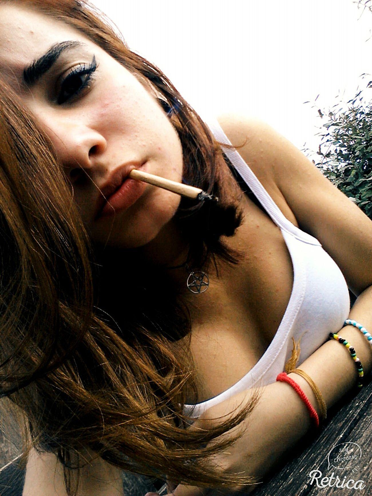 Smoking...Relaxing