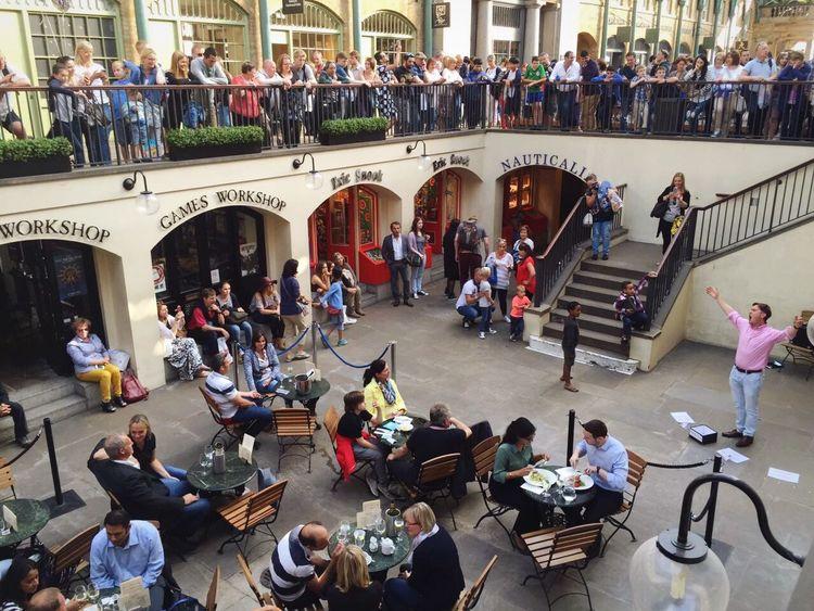 Capturing Freedom People Watching OGi London Lifestyle