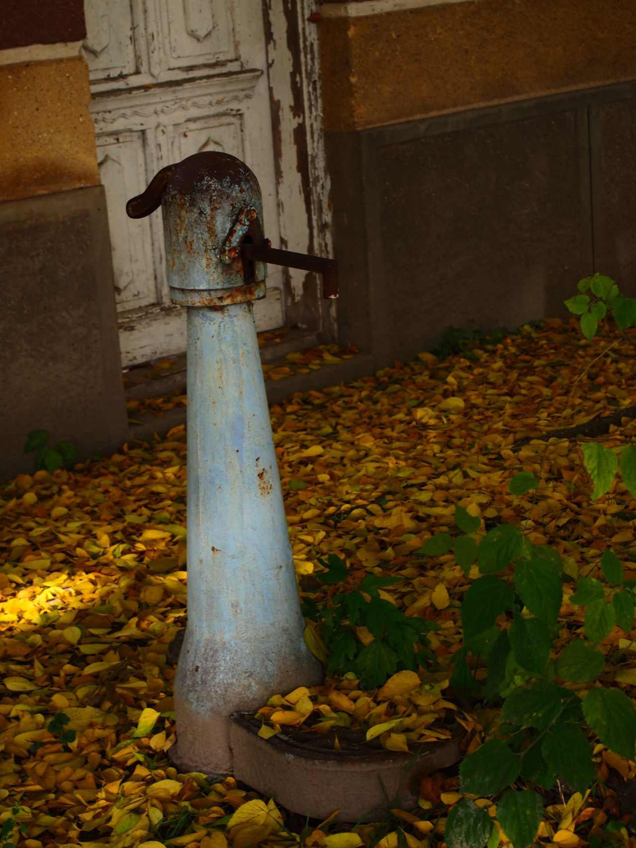 Autumn Fountain Madocsa Night No People Outdoors Pit Pump Village Village Life Water
