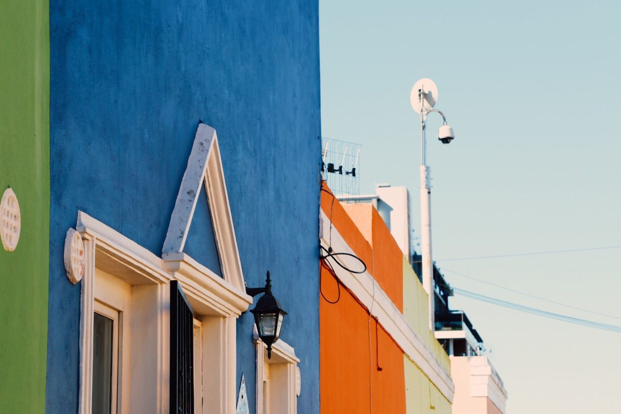 Building Exterior Built Structure Architecture No People Outdoors Residential Building Day Low Angle View Sky Colorful Town Facades Palette Of Colors Travel Destinations Cape Town City Facade Building Bo Kaap Cape Town Bo Kaap Colourful Backgrounds Wallpaper Wall Art Walls Wallpapers