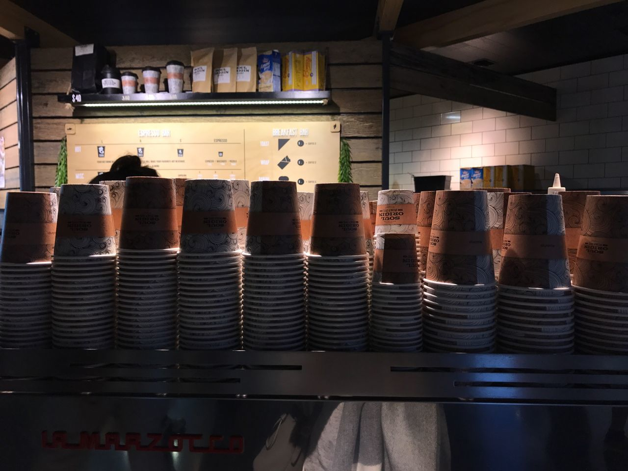 Waiting for my afternoon Coffee ☕️ | Indoors  Shelf Food And Drink Industry Food And Drink Large Group Of Objects Bottle Arrangement No People Machinery Food Stack Drink Industry Can Day Freshness