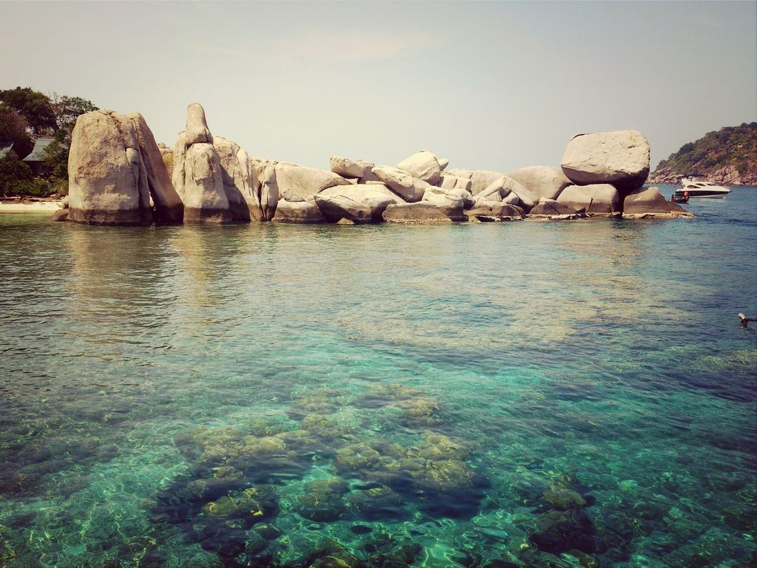 Crystal clear Relaxing Sea And Sky Crystal Clear Waters Sea