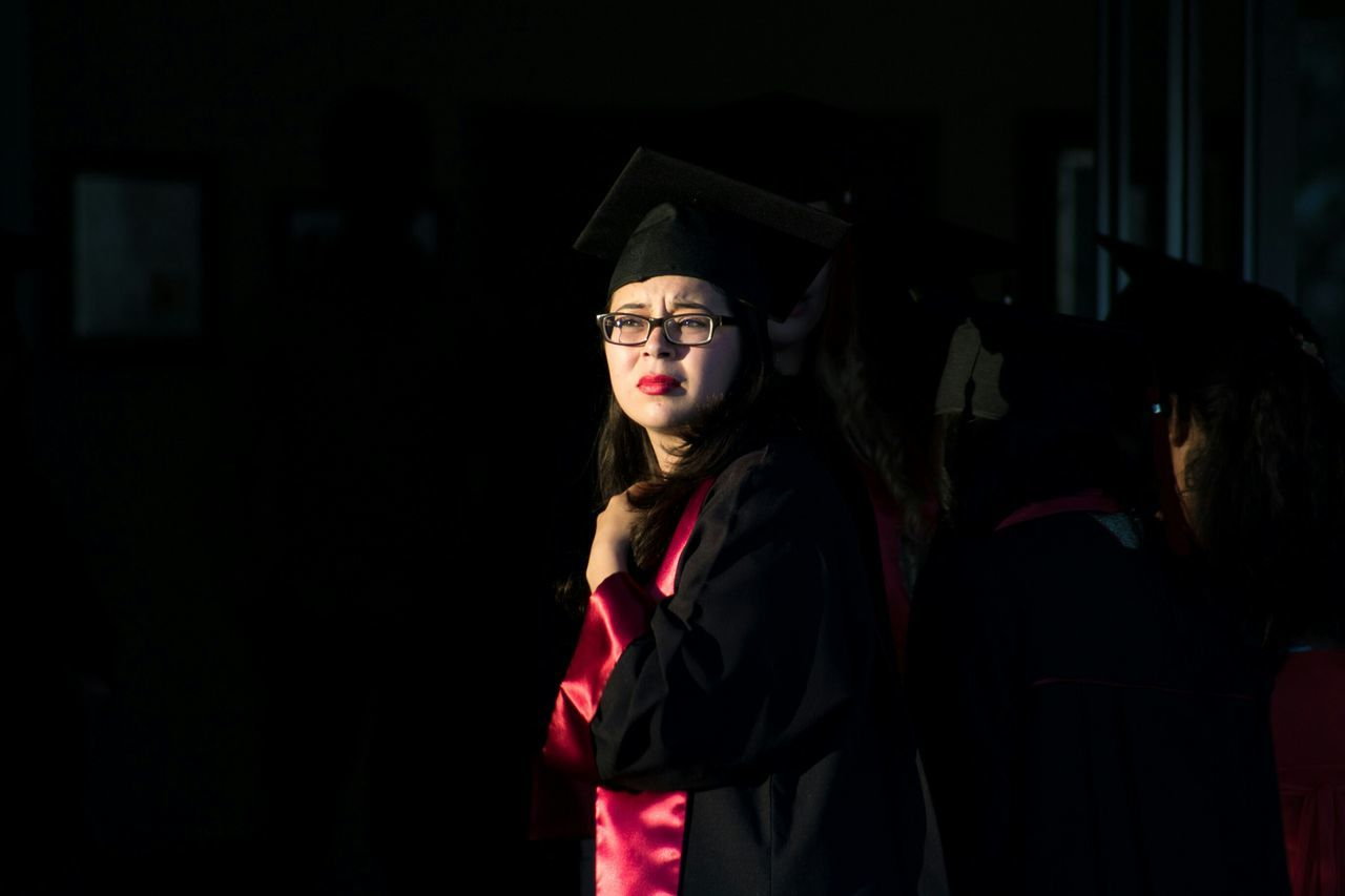 Streetphotography Graduation Woman UABC