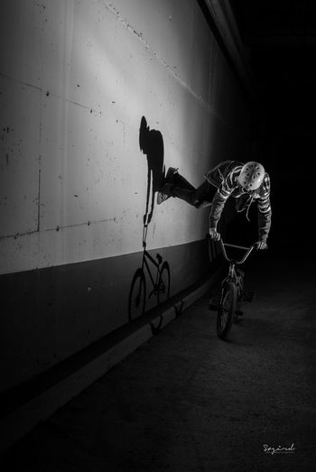 Shadowman. Bmx: Adrian Maurud. Image taken in Hamar, Norway. Bmx  Bmx Is My Life Norway Hamar