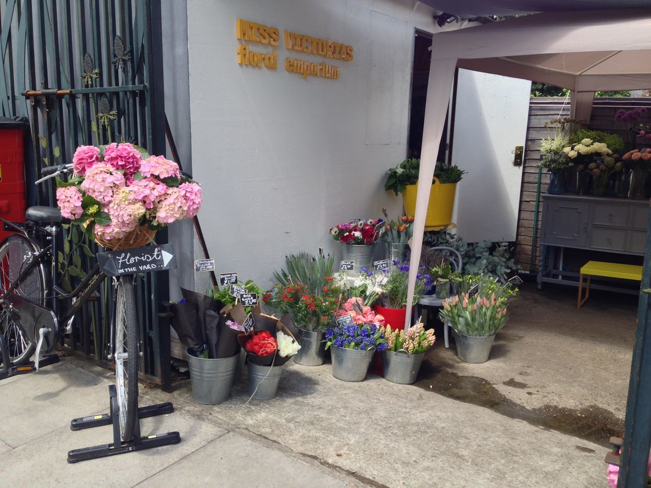 Business Business Finance And Industry City Day Florist Flower Flower Market Flower Shop For Sale Fragility Freshness Market Nature No People Outdoors Plant Retail  Small Business Store Variation