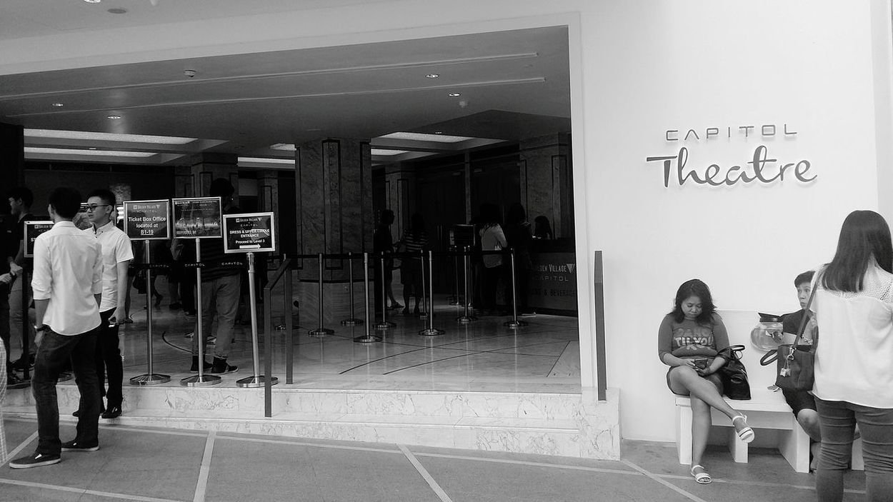 Capitol Theatre is Alive And Kicking Capitol Piazza Bnw Bnw_life Bnw_streetphotography Streetphotography Singapore