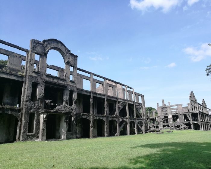 Ruins of Mile Long Barrracks Built Structure Building Exterior No People Military Barracks Pacific War History Architecture Old Ruin History World War Ruins World War II. The Week On EyeEm Connected By Travel