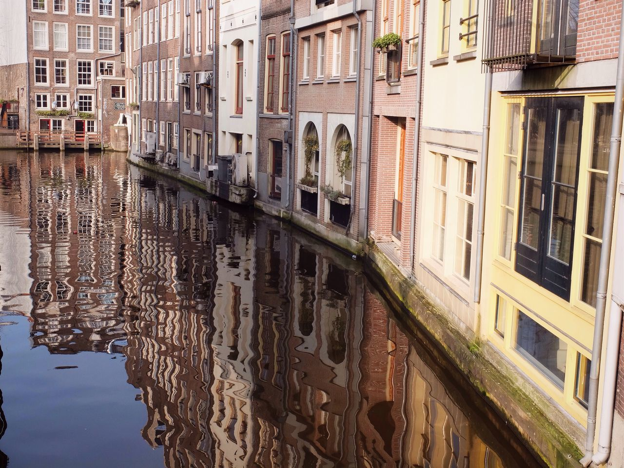Beautiful stock photos of amsterdam, Architecture, Building Exterior, Built Structure, Canal