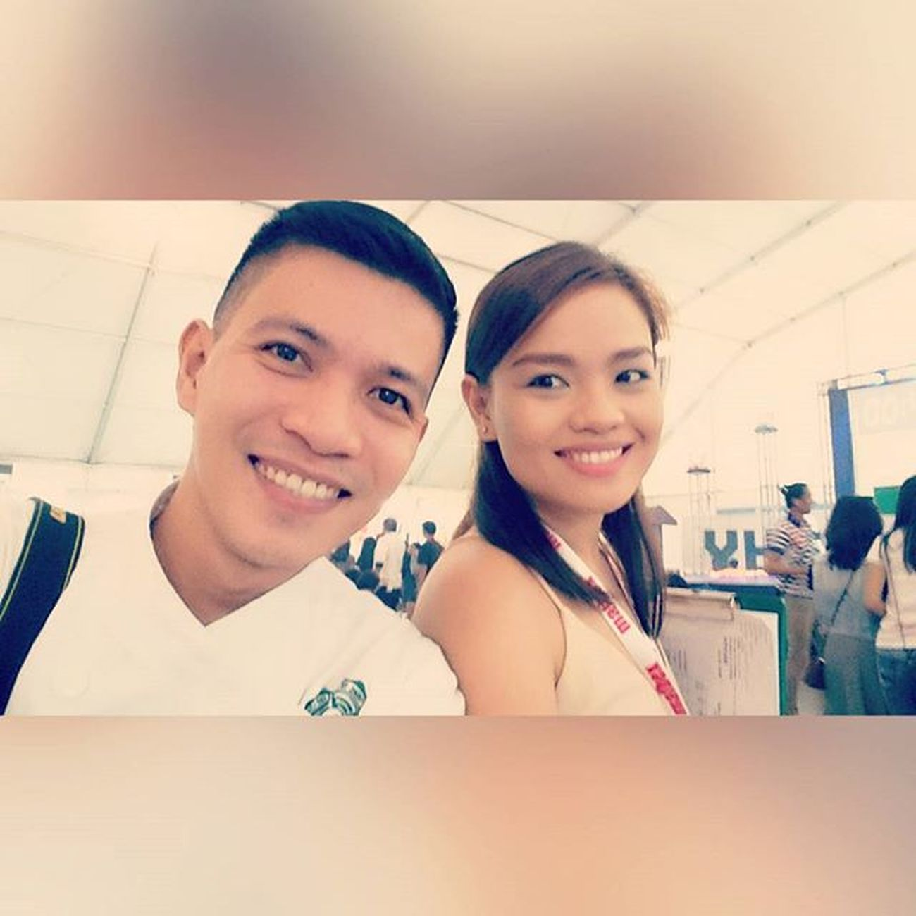 Ohh with Chef Kelly (one of the judges for Market Basket Competition) 📷 . . . MAFBEX YHE 9thMAFBEX 43rdYHE selfie chef themanansala