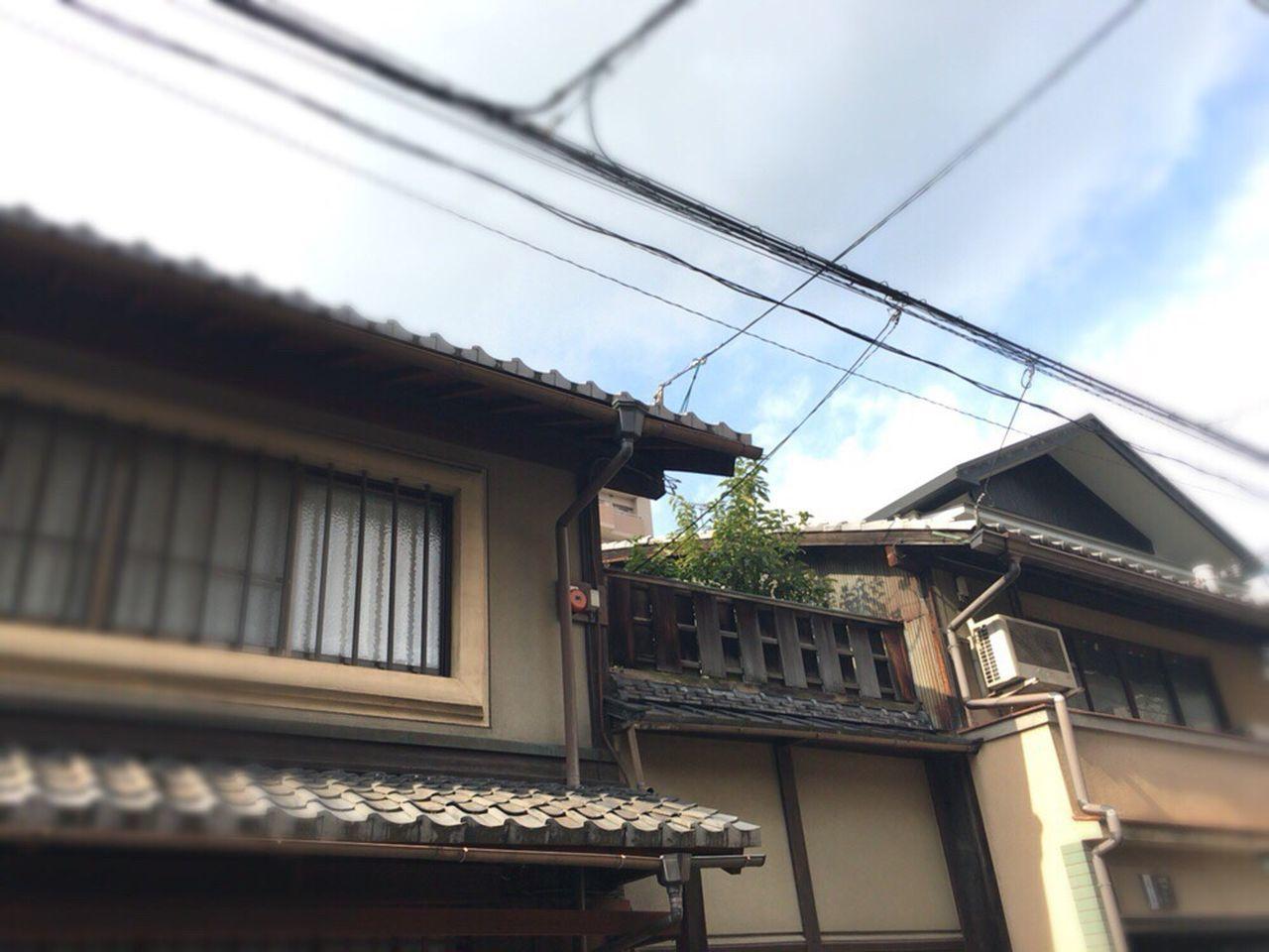 Kyoto,japan Kyoto Street Kyoto Matiya Kyoto City Kyoto Tradisional House