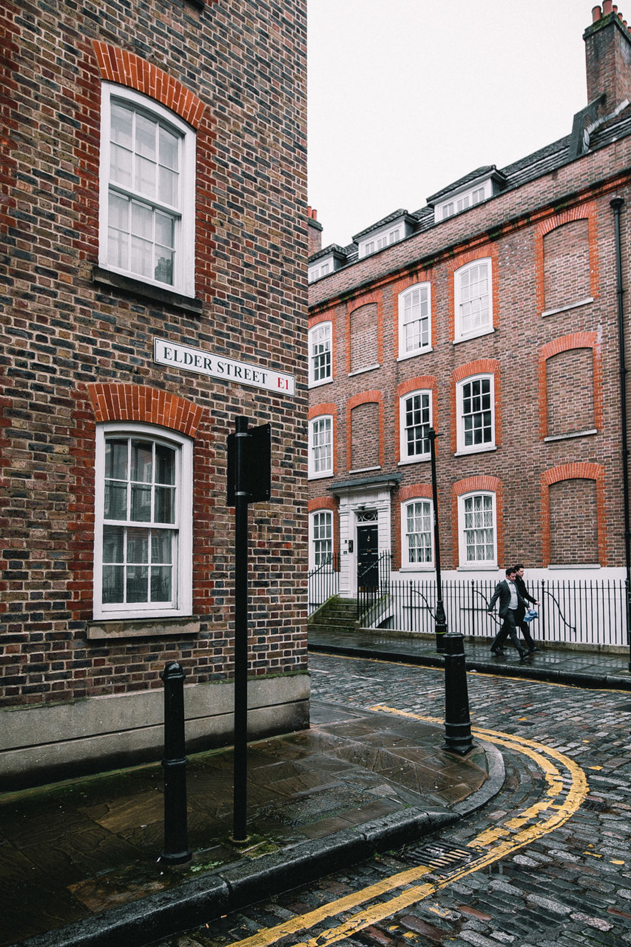 Architecture Brick Wall Building Exterior Built Structure City Day London Moody Old Streets Outdoors Street Photography