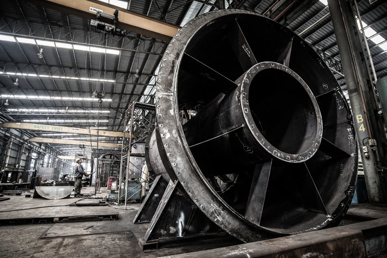 Steel Factory Architecture Built Structure Circle Factory Industrial Photography Steel Factory Steel Structure  Steel Works Turbine