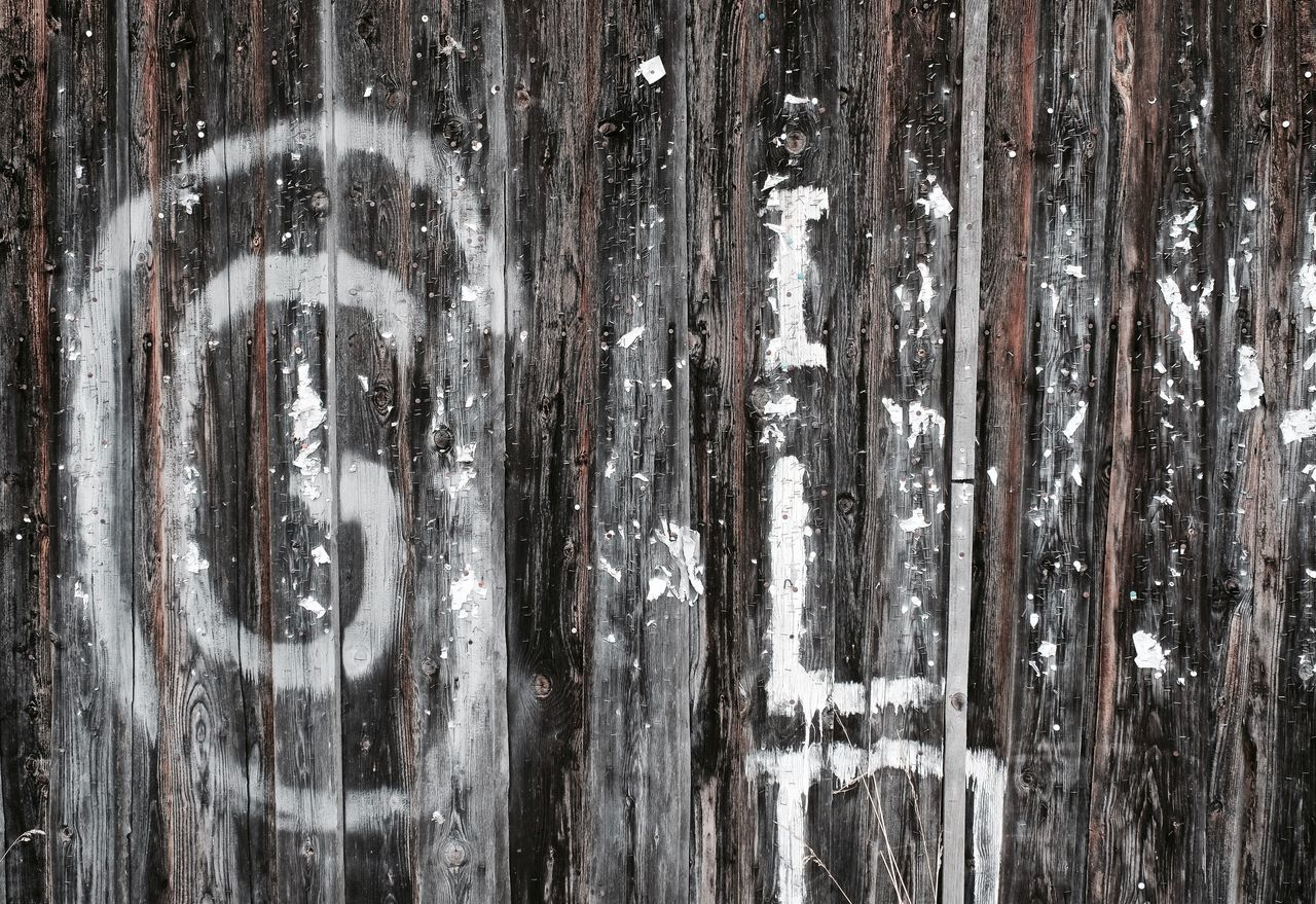 Backgrounds Close-up Full Frame Graffiti Outdoors Pattern, Texture, Shape And Form Textured  Wooden