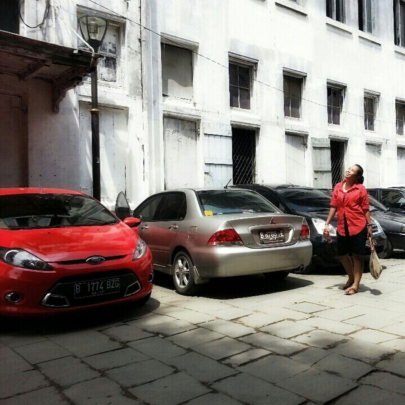 Red Devils at Museum Fatahila Kota Tua
