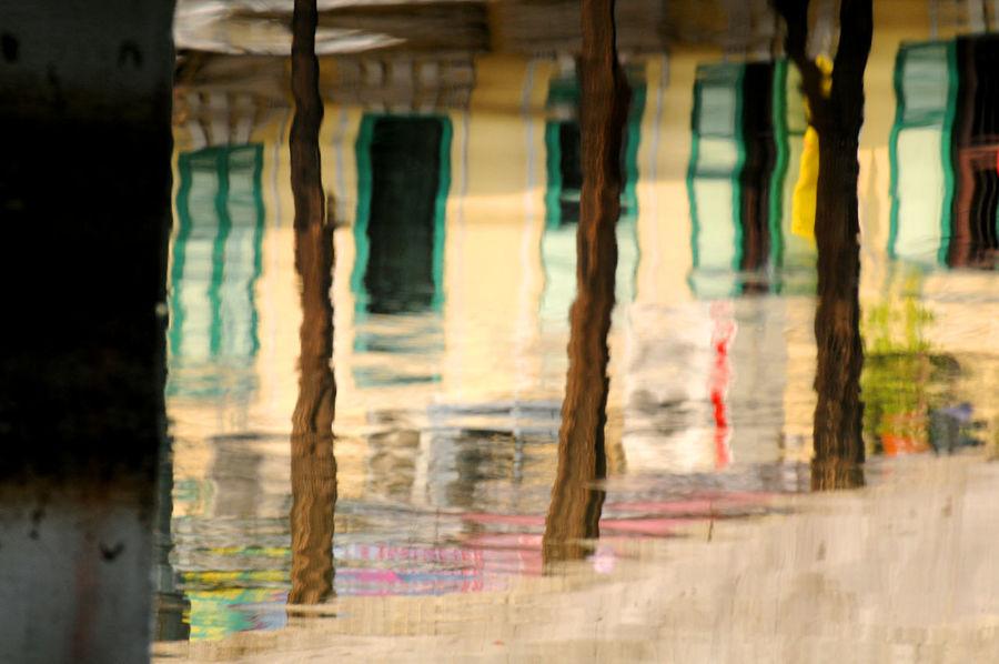 reflective bangkok Abstract Art Photography Bangkok Bus City Park Colored Water Colors Reflection Travel Trees