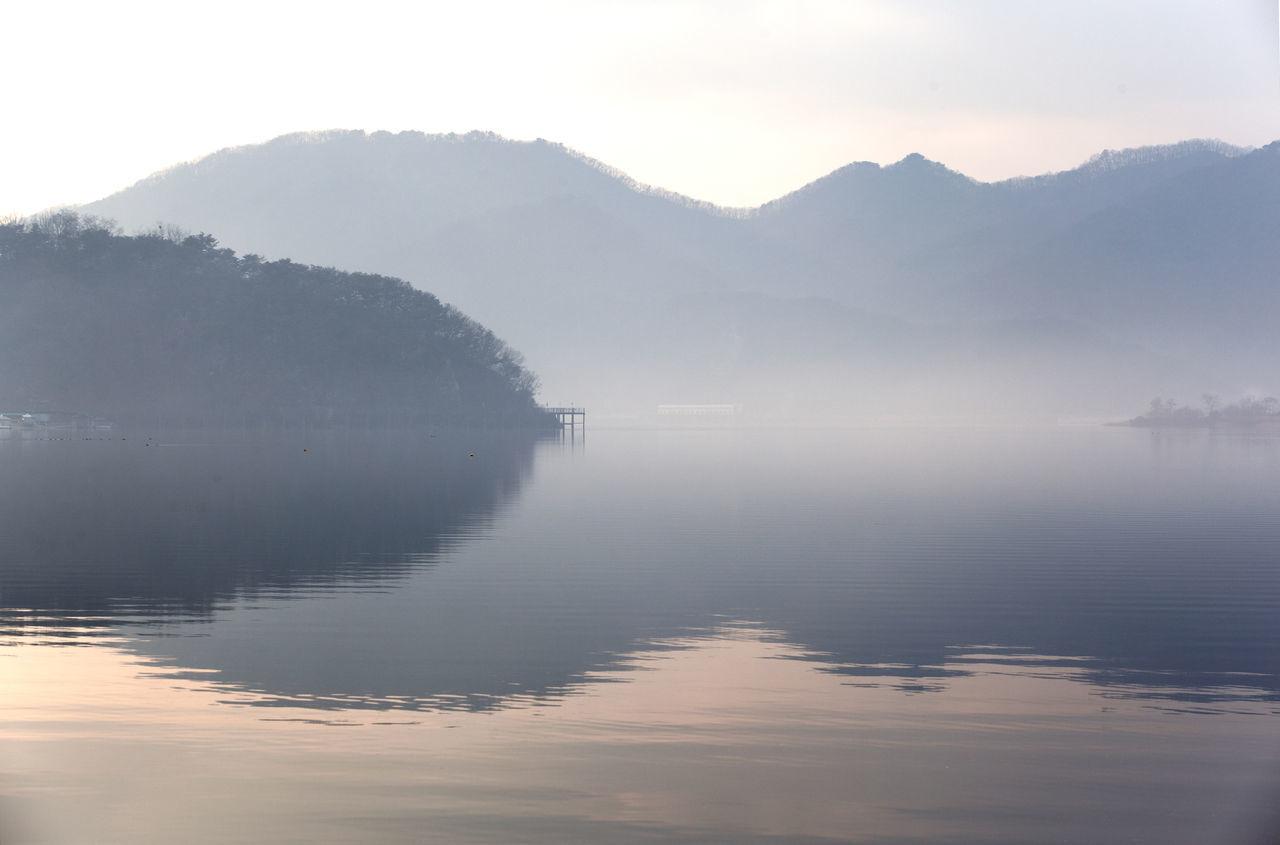Beautiful stock photos of south korea, Beauty In Nature, Calm, Chuncheon, Clear Sky
