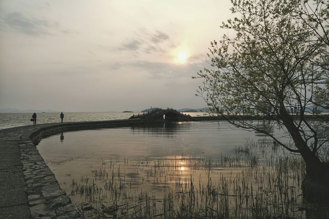 China Photos Lakeside Walking Around Landscape People Watching Lake View Clouds And Sky Light And Shadow Nature Water Reflections Cloudpark Treepark Sunpark Streamzoofamily 43 Golden Moments
