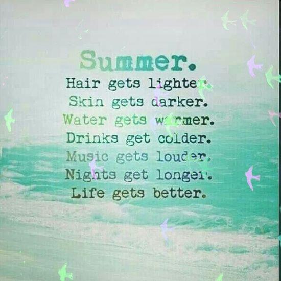 Summer Enjoying Life Hello World Life Gets Better